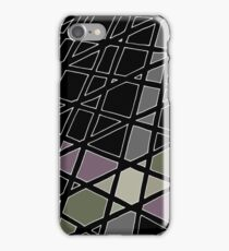 intersecting lines iPhone Case/Skin