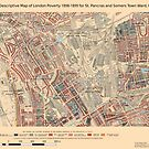 Booth's Map of London Poverty for St Pancras & Somers Town ward, Camden by ianturton