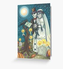CEMETERY NUPTIALS Greeting Card