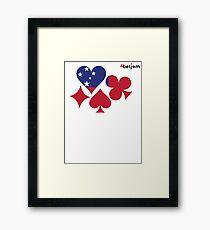 Samoa Poker Framed Print