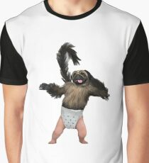 Puppy Monkey Baby Graphic T-Shirt