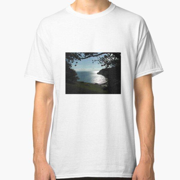 Cliffs over Beer in Devon. Classic T-Shirt