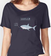 Sharkasm Women's Relaxed Fit T-Shirt