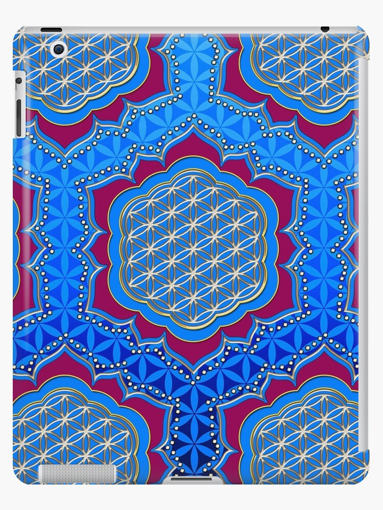 Flower of life, sacred geometry, Metatrons cube, symbol healing & balance   by nitty-gritty