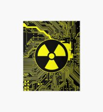 Cybergoth - Radioaktiv (Gelb) Galeriedruck
