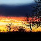 Sky Blue Sunset by CjbPhotography