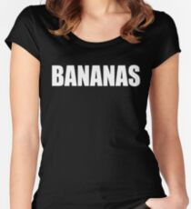 BANANAS - Mike And Dave Need Wedding Dates Women's Fitted Scoop T-Shirt