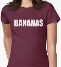 BANANAS - Mike And Dave Need Wedding Dates Womens Fitted T-Shirt