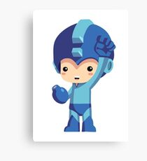 Mega Man! Canvas Print