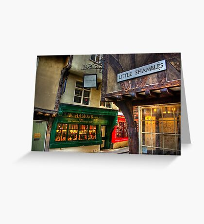 Little Shambles - York Greeting Card
