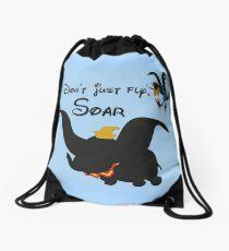 dumbo quote Drawstring Bag
