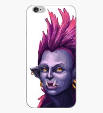 Orc Warrior Woman iPhone Case