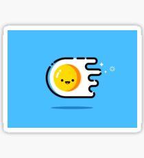 happy egg drawin / illustration Sticker
