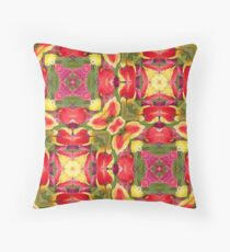 Holiday Tulip Bliss #5 Throw Pillow