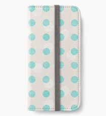 Striped circles iPhone Wallet/Case/Skin
