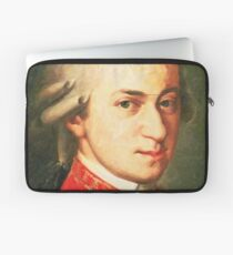 celebrities  wolfgang amadeus mozart 2 Laptop Sleeve