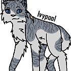 «Gatos del guerrero: etiqueta engomada de Ivypool» de Kara Hatton