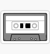 Cassette Tape - Vintage Retro Audio Sticker