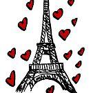 Eiffel Tower,Paris by Logan81