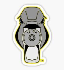Mallard Down Yellow Logo Sticker
