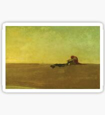 Howard Pyle Marooned Pirate Sticker