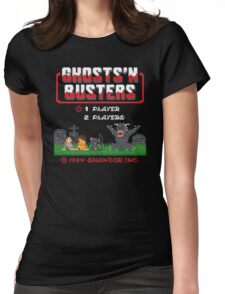 Ghosts 'N Busters Womens Fitted T-Shirt