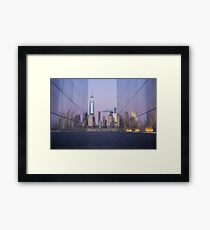 Empty Sky Framed Print