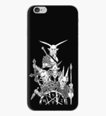 The Infernal Army Black Version iPhone Case