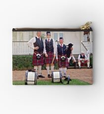 Redlands Sporting Club Pipe Band at Whepstead Manor Open Day Studio Pouch