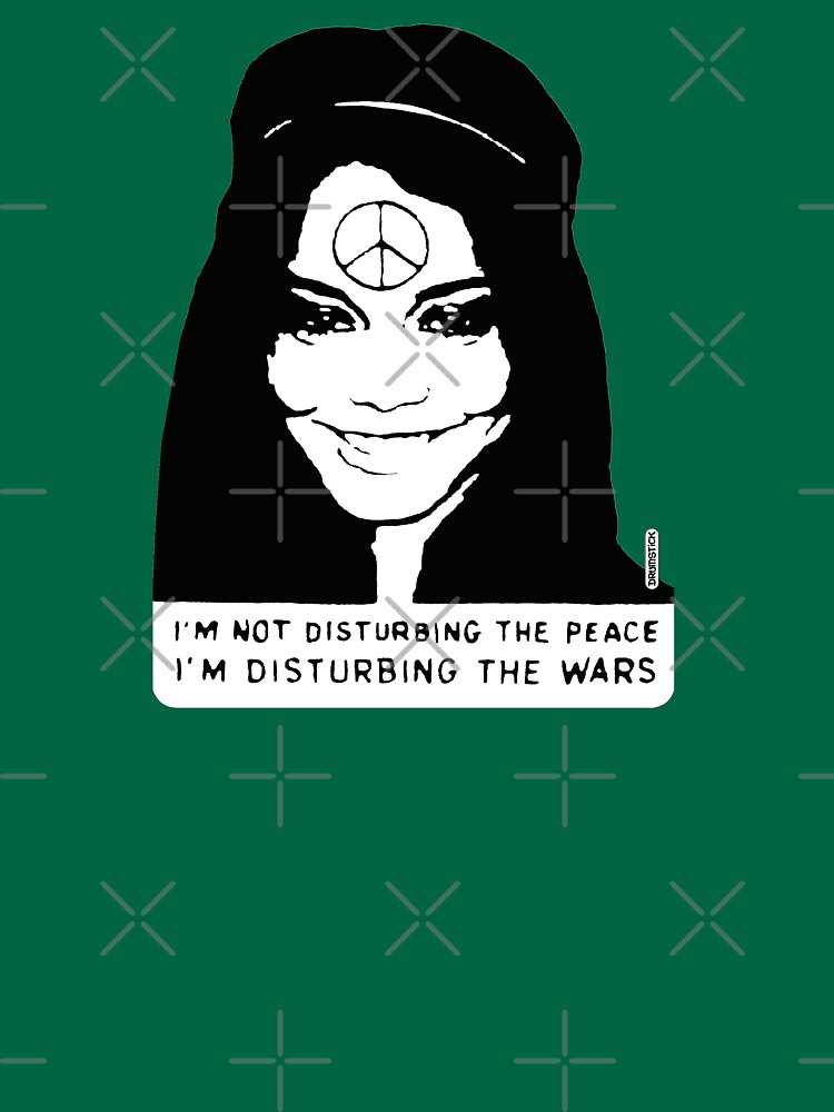 Disturbing the Wars - Peace Girl by thedrumstick