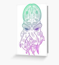 Octopus Graphic Greeting Card