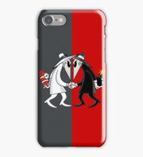 Spy vs Spy iPhone Case/Skin