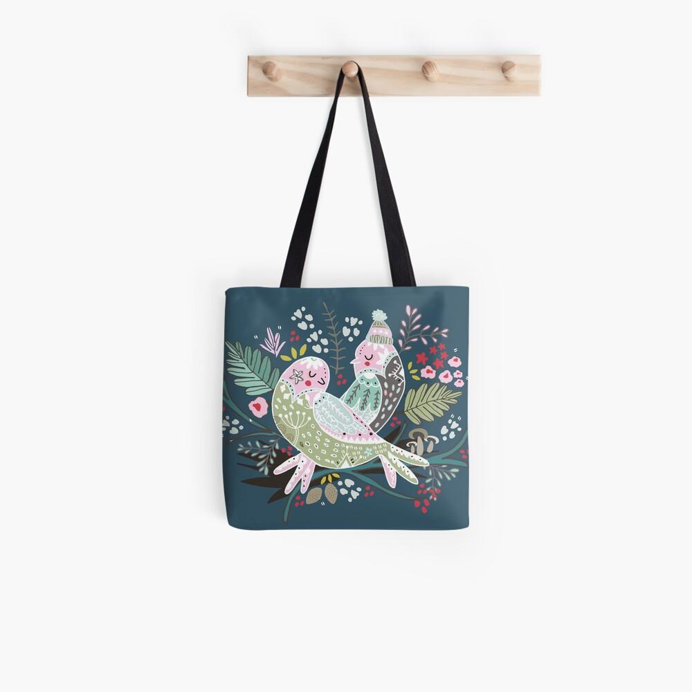 Feiertags-Vogel-Liebe II Tote Bag