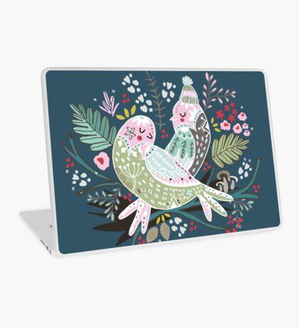 Holiday Birds Love II Laptop Skin