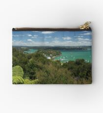 Russell.....from Flagstaff Hill, Bay of Islands, New Zealand. Studio Pouch