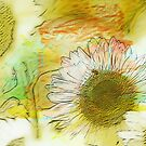 Sunflower Impressions by Darlene Lankford Honeycutt