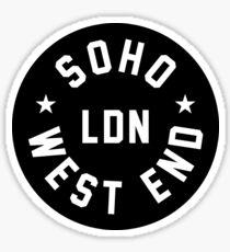 SOHO - London Sticker