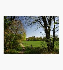 Rural View Photographic Print