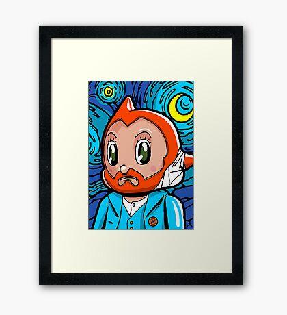 Astro Night Framed Print