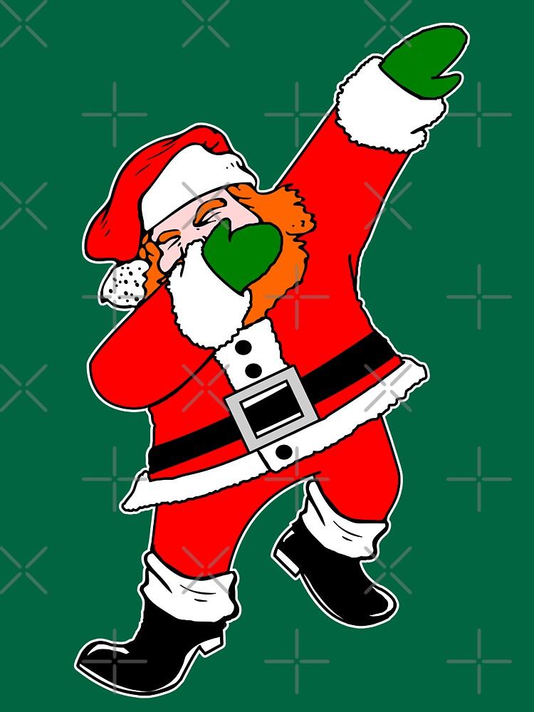 Ginger Beard Dab Santa by EthosWear