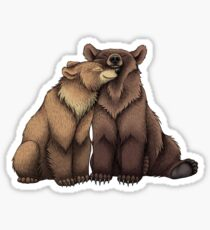 Bear Couple Sticker