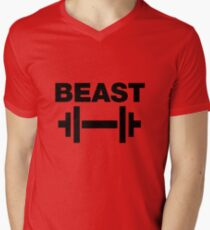 Cartman's Beast T-Shirt Men's V-Neck T-Shirt