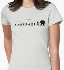 Warhammer 40k Size Chart Women's Fitted T-Shirt