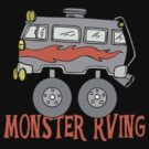 Monster Camping RVing by SportsT-Shirts