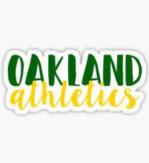 Oakland Athletics Sticker