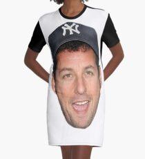 Adam Sandler's Face Graphic T-Shirt Dress