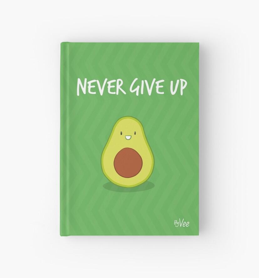 « Never give up » par vee-madinina