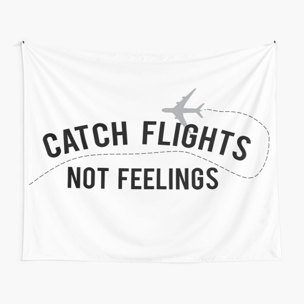 The Travel Motto Wall Tapestry