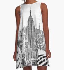Vestido acampanado Manhattan, Empire State Building, ciudad de Nueva York, me encanta NYC Skyline, Central Park, Rockefeller Center, Central Park, Estados Unidos