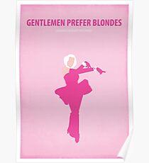 Gentlemen prefer blondes Poster